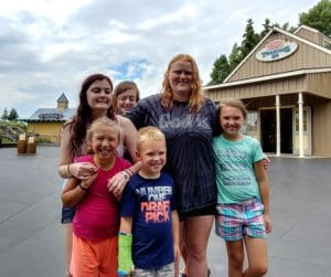 Youth enjoying Kingdom Bound at Darien Lake Theme Park