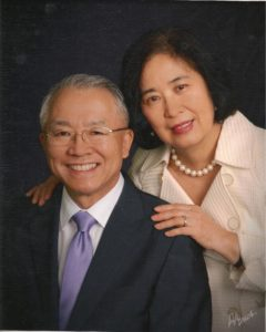Sung-Ho Lee with his wife Jung Lee